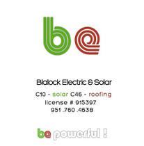 Blalock Electric & Solar logo