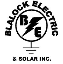 Blalock Electric & Solar inc. logo