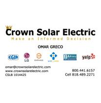 Crown Solar Electric logo