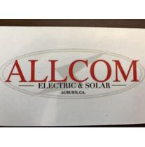 Allcom electric and solar logo