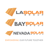 LA Solar Group / Bay Solar Group / Nevada Solar Group logo