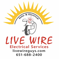 Live Wire Solar & Electrical logo