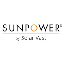 SunPower by Solar Vast logo
