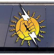 Power Solar Structures Construction logo