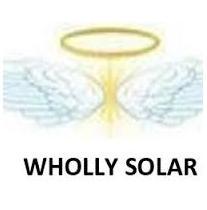 Wholly Solar logo