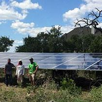 13.48 KW Ground Mount Install in New Braunfels