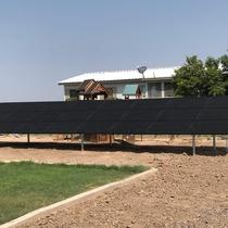 TriSMART Ground Mount Solar Installation