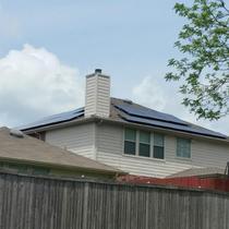 Mesquite TX -Full View, #solarugreen