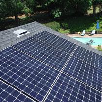 NAPA Sunpower Install