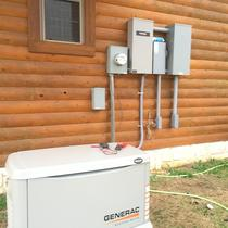 22KW Generac Controlled by battery system