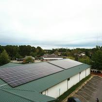 65 kW Array Apex Mosque
