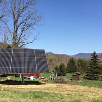 AllEarth's Vermont made solar trackers get you the most power for your panels.