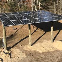 Wareham, MA - 9 kW Solar Canopy