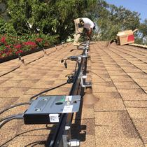 An early solar install project in West LA