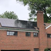 Solar customer in Alexandria VA