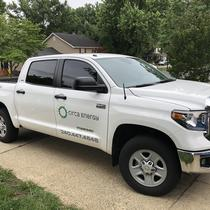 """New """"Circa"""" truck ready to install your solar!"""