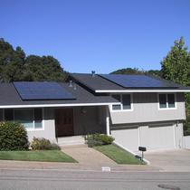 Roof mount array