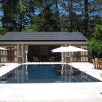 Pool cabana array