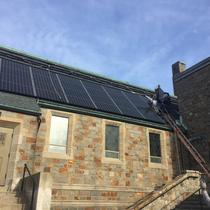 Solar Installation on Bethel AME Church in Jamaica Plain
