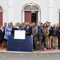 Solar Groundbreaking at Second Church in Dorchester
