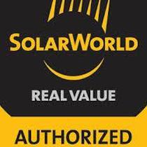 We are SolarWorld Authorized Installers