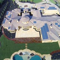 20 KW Solar on Granite Bay Custom Home