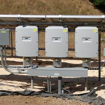ground mount system inverters
