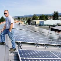 Russian River Brewing solar installation