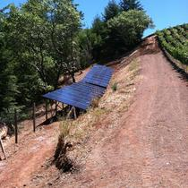 vinyard solar ground mount