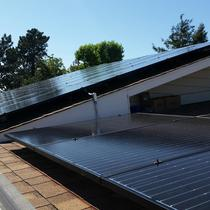 Solarworld panel roof installation