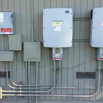 inverters and pipework