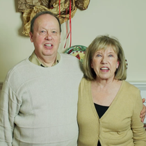 Glen and Linda love their home even more with their efficient furnace and insulation.