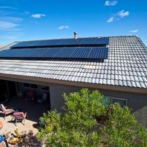 Solar Home in Green Valley