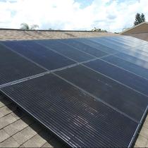 Silfab Panels on Shingle Roof - Largo, FL