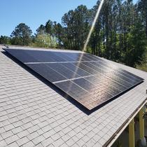 Silfab Panels on Shingle Roof - Brooksville, FL