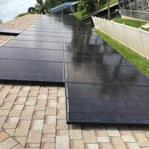 Silfab Panels on a Shingle Roof - St Petersburg, FL