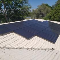 Panasonic Panels on a Barrel Tile Roof - St Petersburg, FL