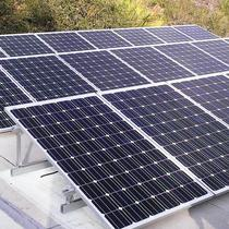 Escondido 92025 - Tilted PV system on flat roof