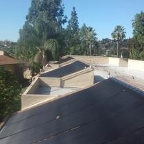 Spring Valley 91977  - Commercial Solar Pool Heating Array