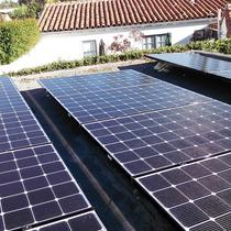 San Diego 92116 (Kensington) - Small solar system on flat garage roof