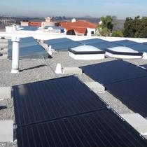 San Diego 92120 - Ballasted System - Solarworld collectors / Enphase microinverters