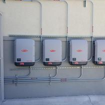 Inverter Photo Commercial Install