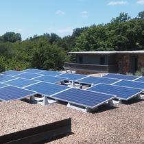 Flat Roof Solar Install