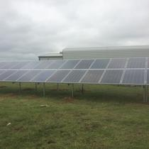 Ground Mounted Solar Install