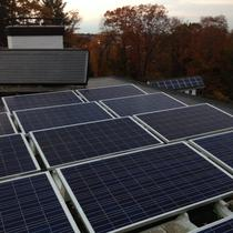 6 kw Photovoltaic Array & Solar Hot Water