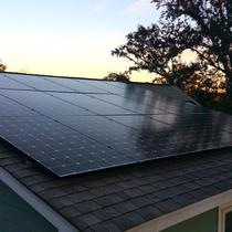 Roof Mount with LG335W Panels - Charleston, SC