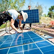 Retrofit Energy Solar Installation