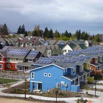 Solar Powered Community in White Center