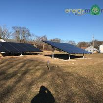11.55 kW LG330 ground mounted arrays in Westport MA