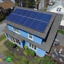 3.71kW Canadian Solar 265w Polycrystalline install in Worcester MA